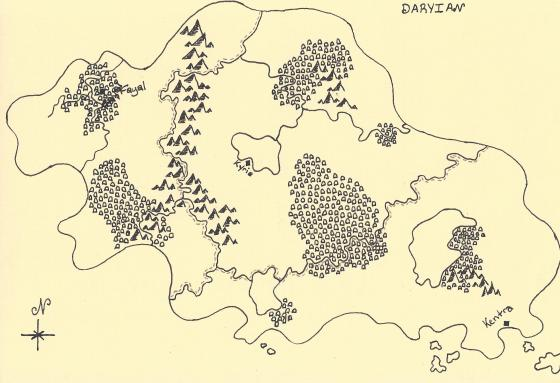 Daryian Map